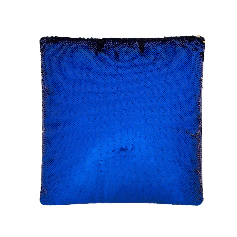 Cuscino sirena Inserisci Forma quadrata Cuscino decorativo in paillette