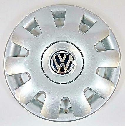 Volkswagen VW Pieza de Repuesto Original Golf 1 Tapacubos de 15 Pulgadas (también Bora y Polo)
