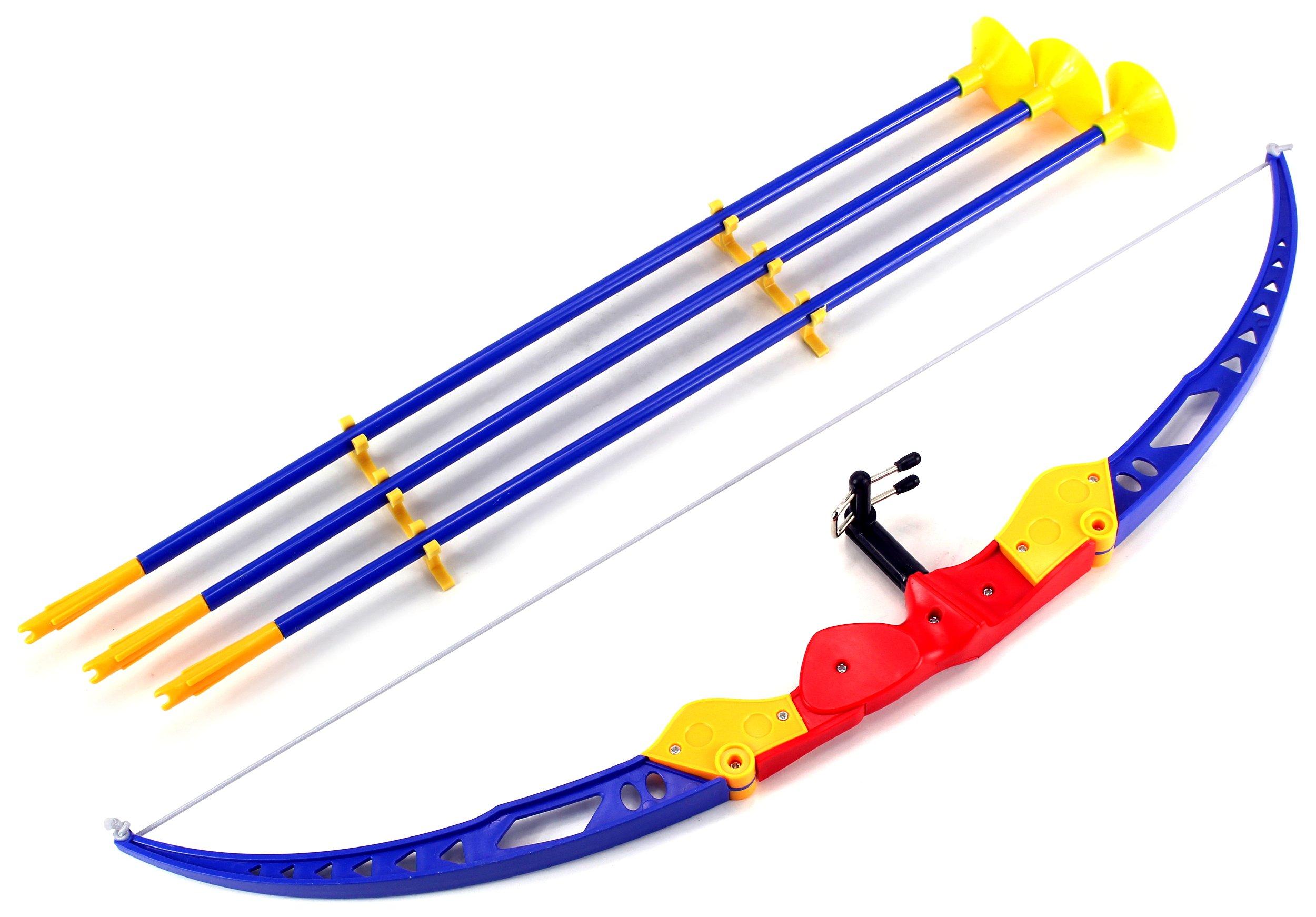 Sport Super Archery '51-1 Children's Kid's Toy Bow and Arrow Dart Playset w/ Suction Dart Arrows
