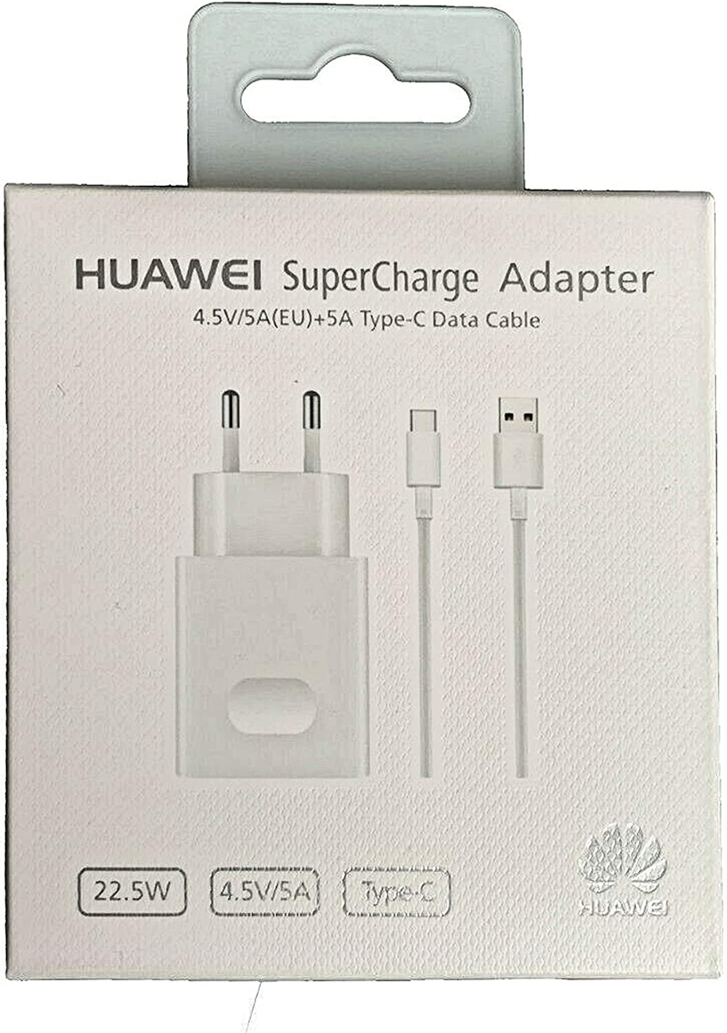 HUAWEI CARICABATTERIE SUPERCHARGE AP81 + CAVO TYPE C 5A MATE