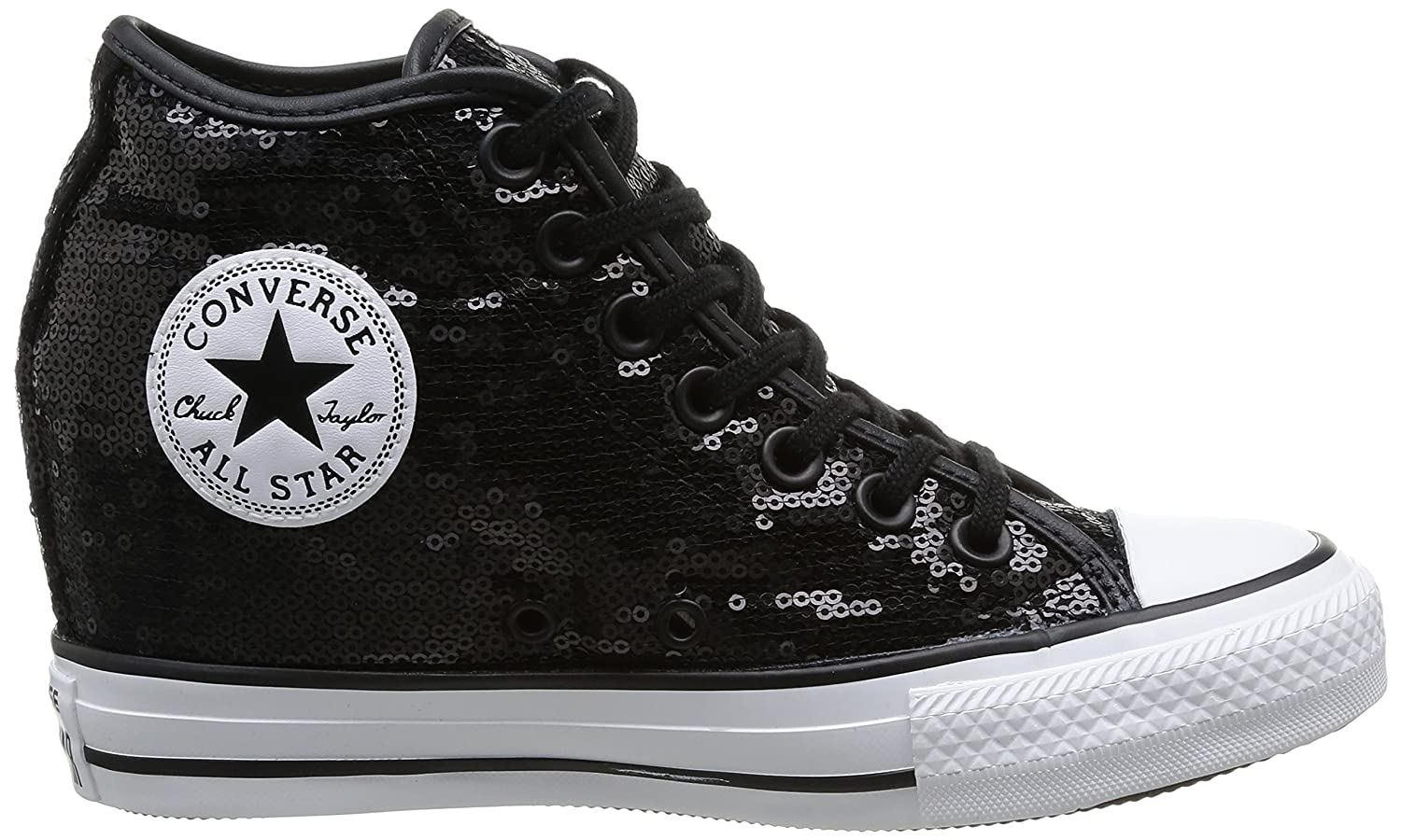 0851c54daa73 Converse Women s All All Star Mid Lux Sequins Desert Boots  Amazon.co.uk   Shoes   Bags