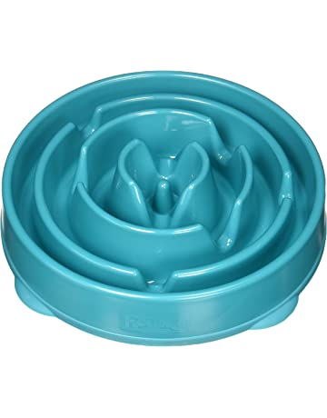 5e14e07061 Outward Hound Fun Feeder Dog Bowl Slow Feeder Stop