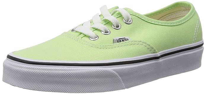 Vans Authentic Sneaker Unisex Erwachsene Grün Paradise Green