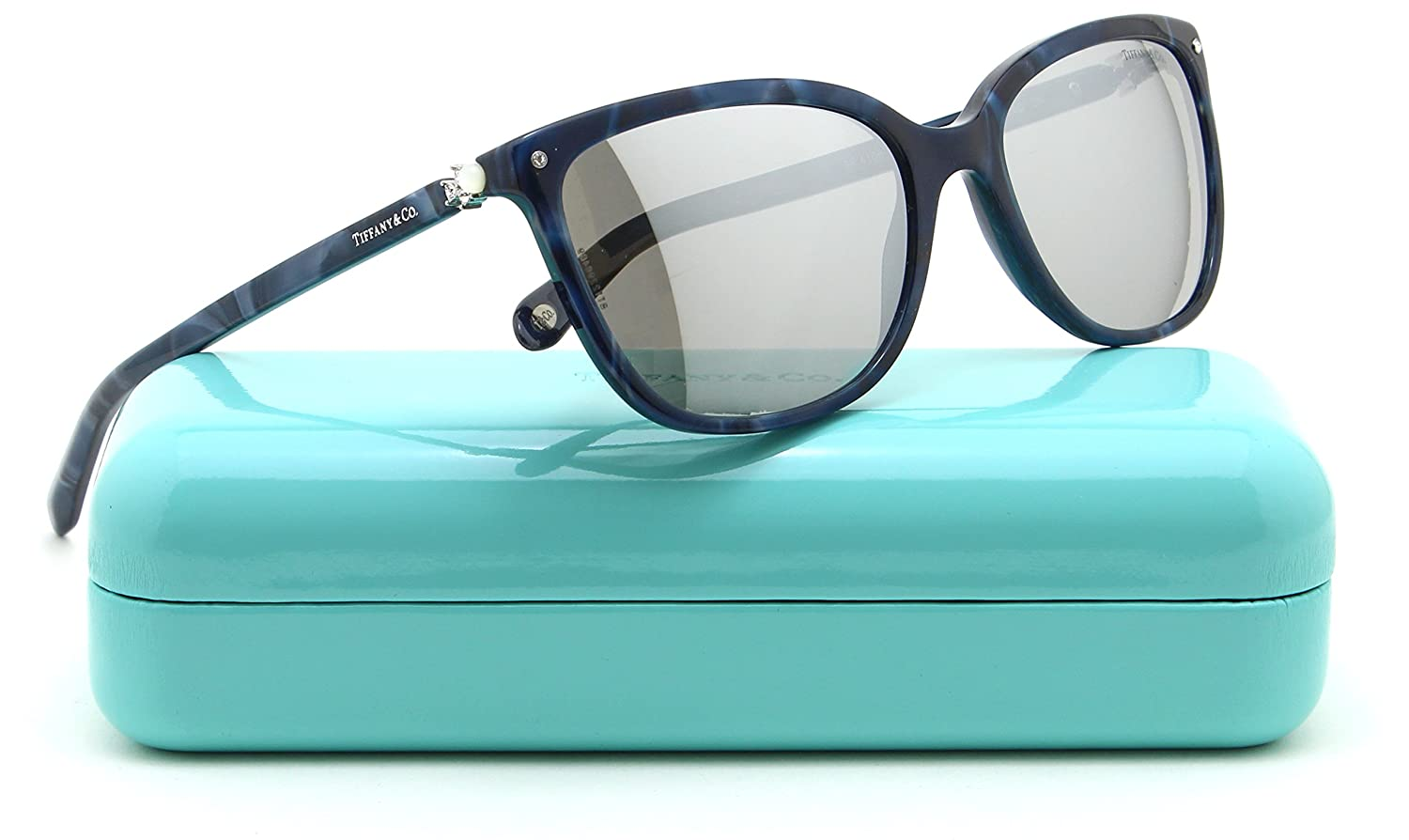 a41bb1fd80b Tiffany   Co. TF 4105-H-B Women Square Mirrored Sunglasses 82006V   Amazon.co.uk  Clothing