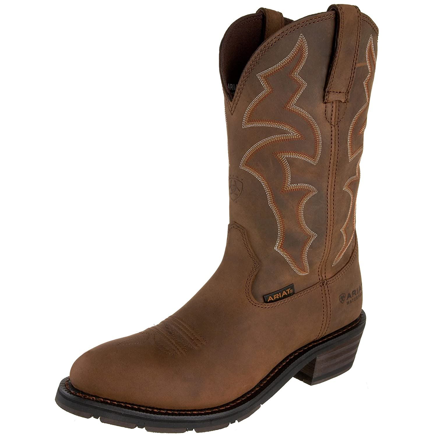 Ariat メンズ Ironside H2O B0035LCXZ6 12 D(M) US|Dusted Brown Dusted Brown 12 D(M) US