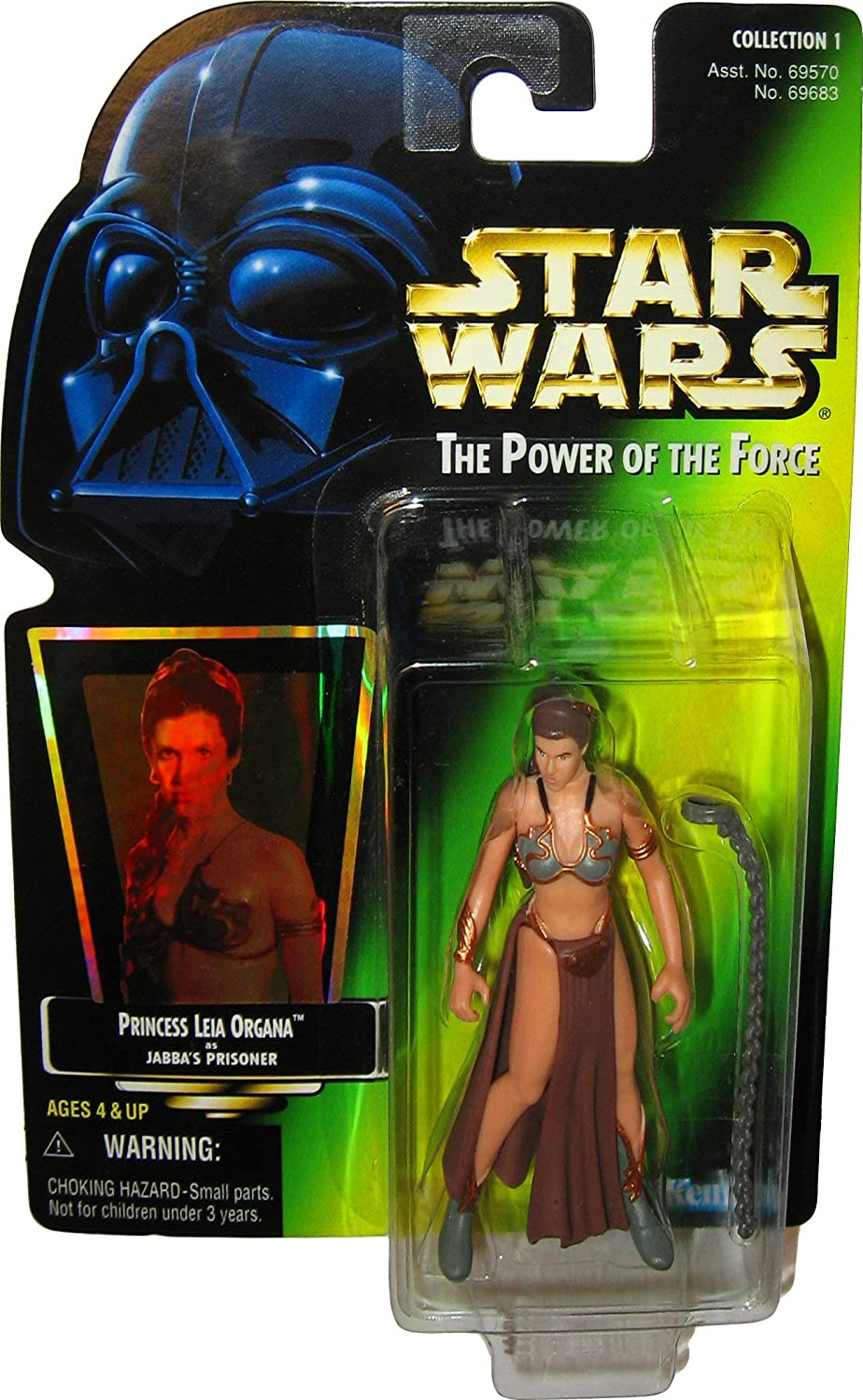 Star Wars Hasbro Princess Leia Slave Outfit The Power Of The Force Collection 1