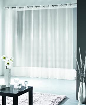 Curtains Ideas 300 cm length curtains : Brushed Cotton Curtains with Eyelets Length 300 cm White: Amazon ...