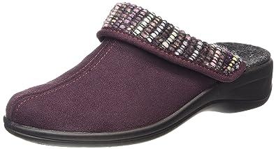 Rohde Verden, Chaussons à Doublure Chaude Femme - Violet - Purple (49), 40
