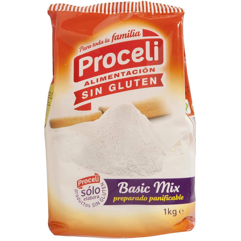 PROCELI basic mix preparado panificable SIN GLUTEN paquete 1 kg ...