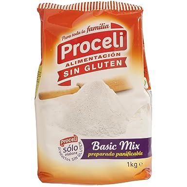 PROCELI basic mix preparado panificable SIN GLUTEN paquete 1 kg