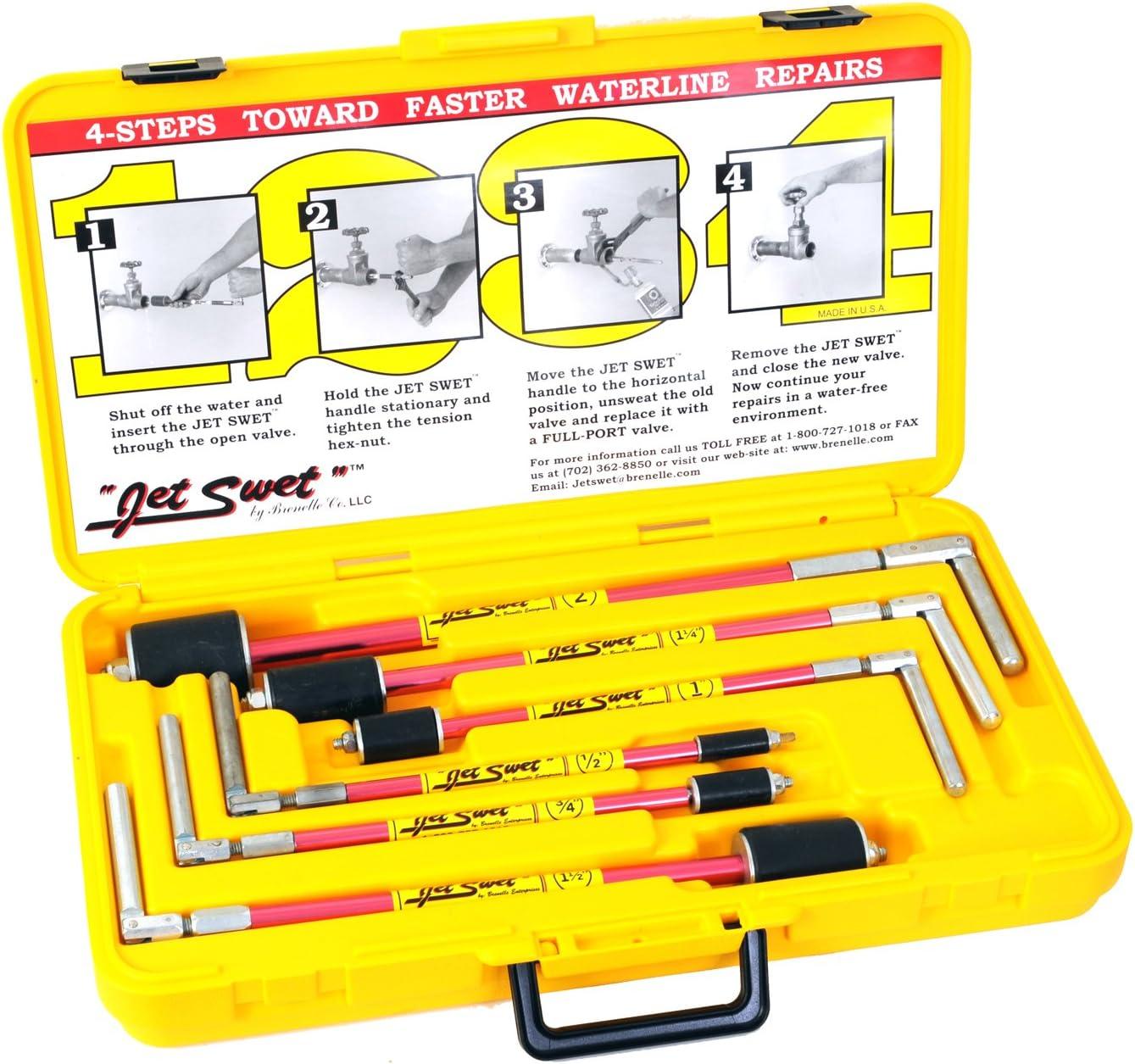 15 Nerrad outils Ntjskit Jet Swet kit Noir 54/mm