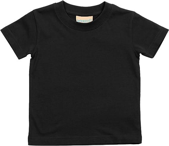 Larkwood Azzurro 0-6 mesi Maglietta per Neonato 100/% Cotone
