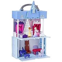 Disney Frozen Pop Adventures Arendelle Castle Playset with Handle, Including Elsa...