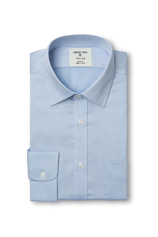 ORIGIN TIES SHIRT メンズ B077BBNWCP  ブルー 16\