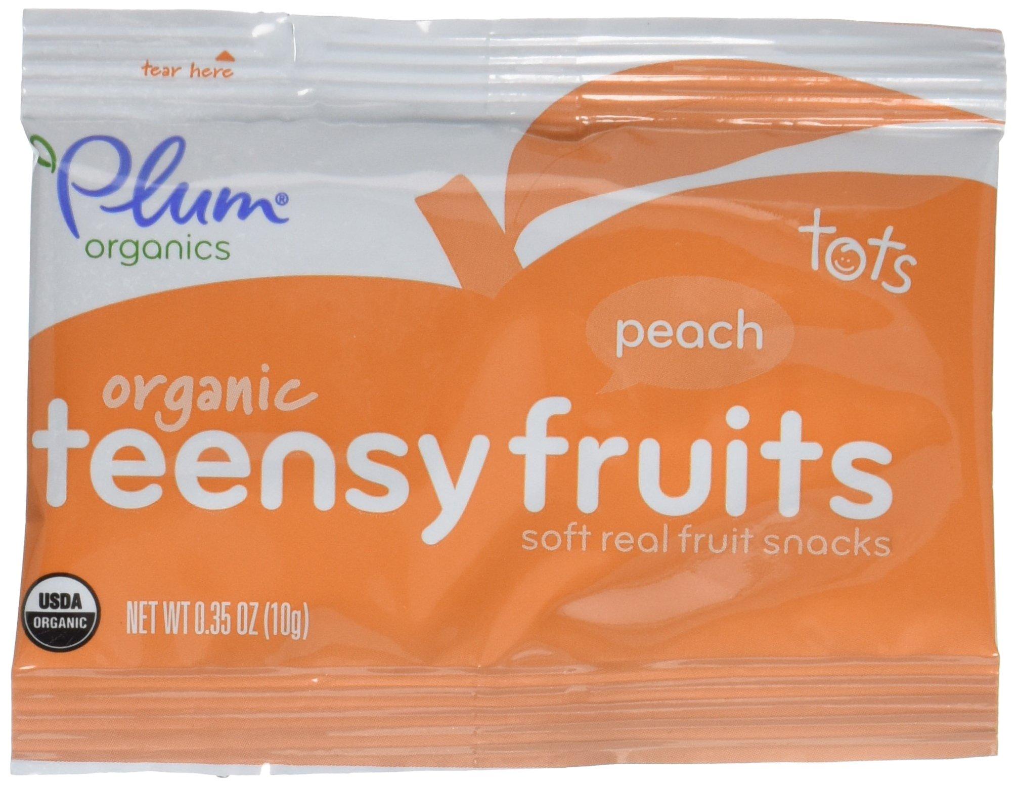 Plum Organics Tots Teensy Fruits - Peach - 1.75 oz