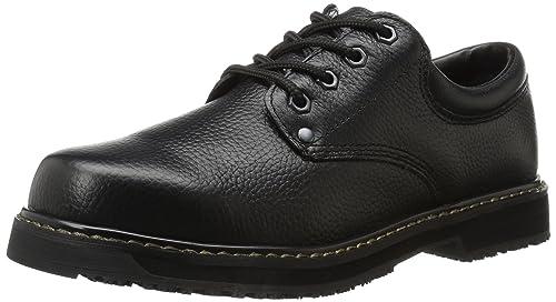 Men's Dr. Scholl's Harrington II Work Shoe, Size: 7 M, Bushwacker Brown Leather
