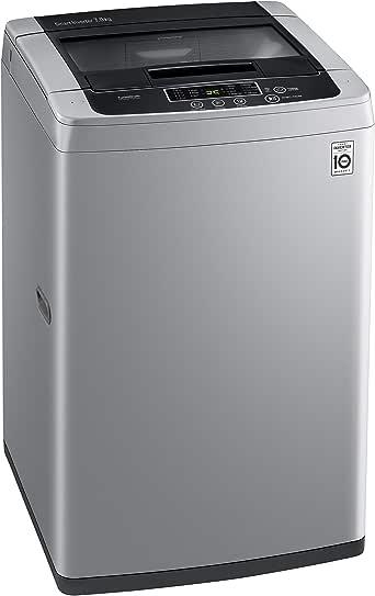 LG 7.5 Kg Top Load Washing Machine, Silver - T9585NDKVH