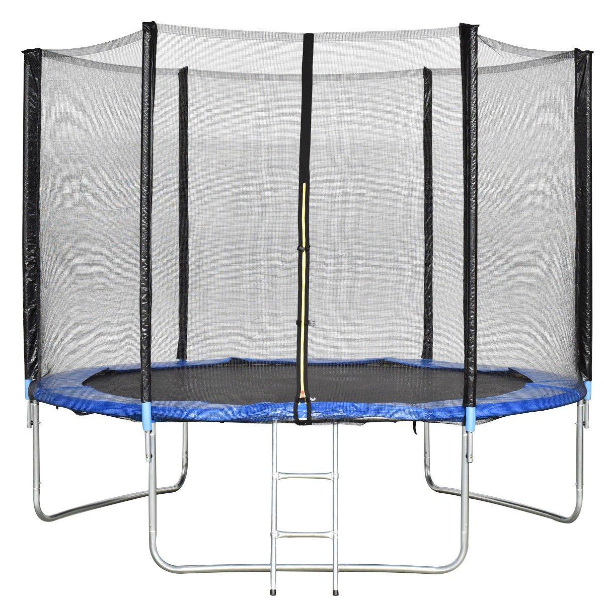 Giantex - Conjunto de cama elástica para saltar, con red de ...