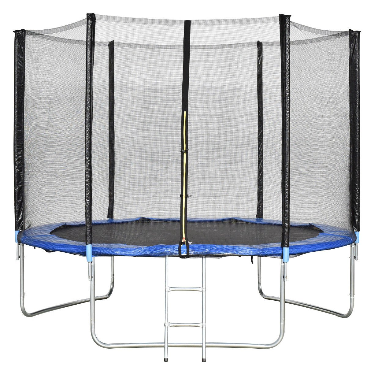Giantex Trampoline Combo Bounce Jump Safety Enclosure Net W/Spring Pad Ladder (10 FT)