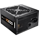 Corsair CP-9020098-UK VS Series ATX/EPS 80 PLUS Power Supply Unit, 650 W