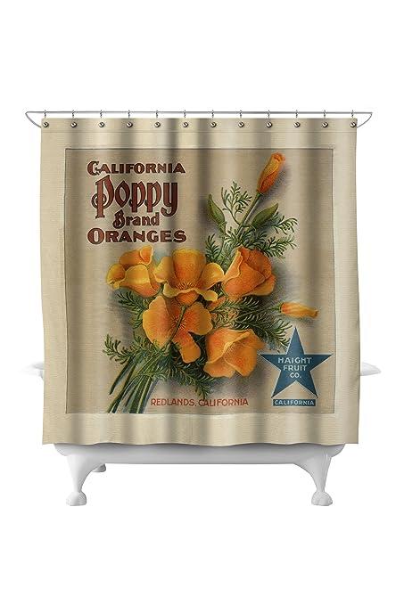 Amazon.com: Redlands, California - California Poppy Brand - Vintage ...