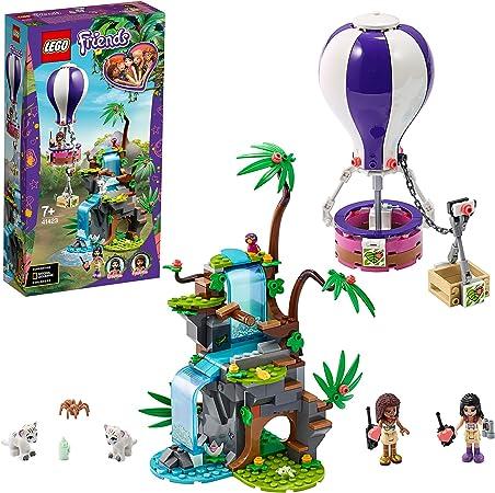 LEGO Pulse Theme Friends Rescate en la Jungla del Tigre en Globo Set de Juego con Andrea, Emma y Figuras de Animales, Multicolor (41423): Amazon.es: Juguetes y juegos