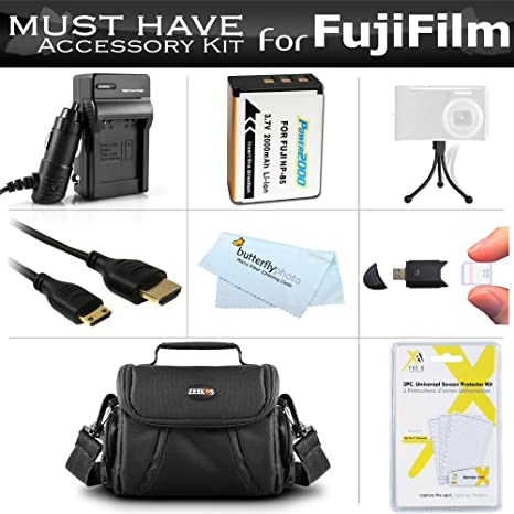 81d6bad9 Must Have Accessory Kit for Fuji Fujifilm FinePix SL300, FinePix SL1000, S1  Digital Camera