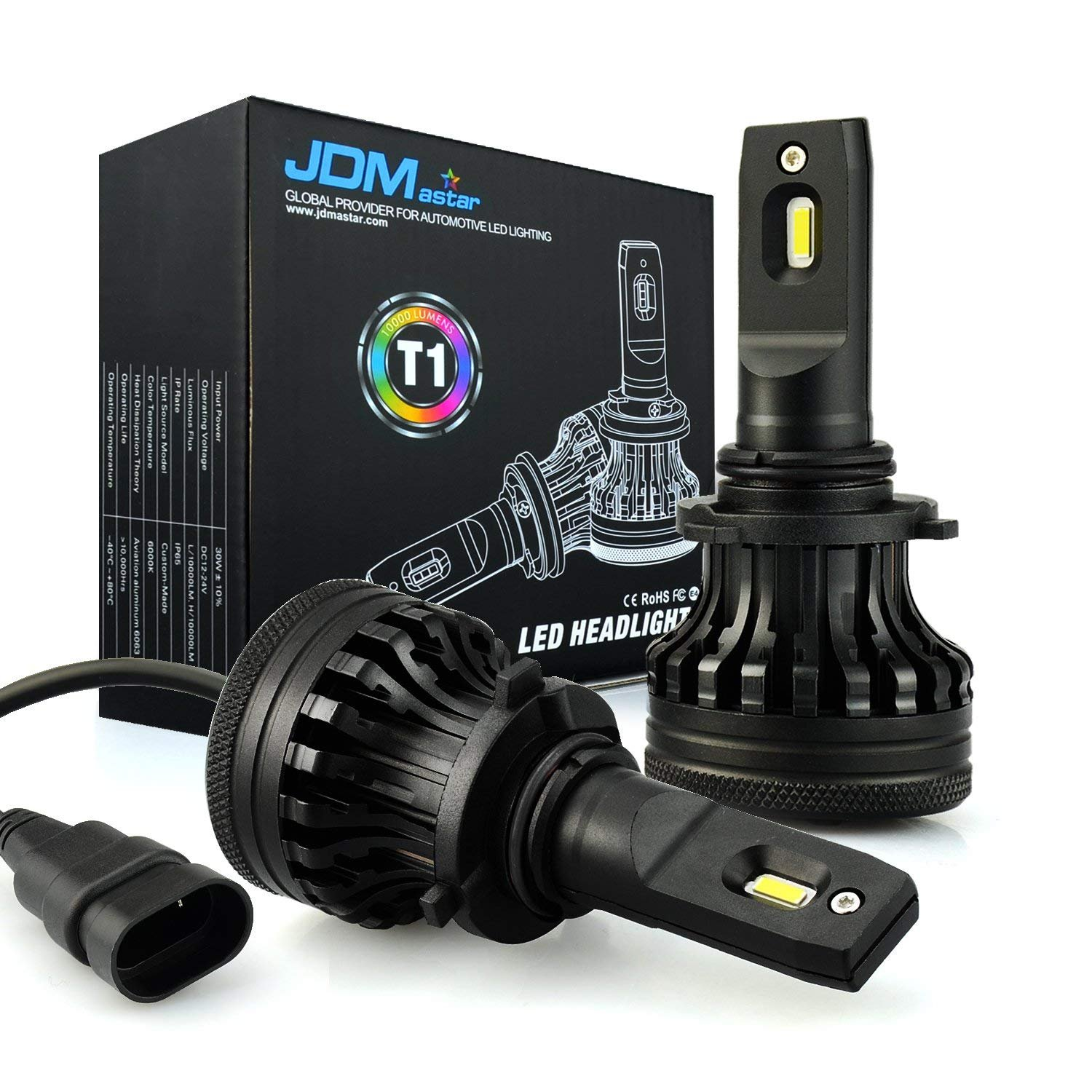 JDM ASTAR Newest Version T1 10000 Lumens Extremely Bright High Power 9012 All-in-