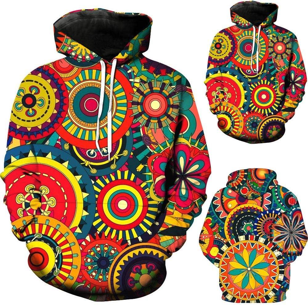 Halloween Sweatshirt for Men BXzhiri Mens Fashion Sweatshirt 3D Printed Hoodies Long Sleeve Hoodie Men s Hooded Sweatshirts