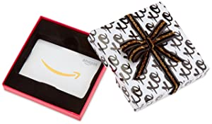 Amazon.com Gift Card in a XOXO Box