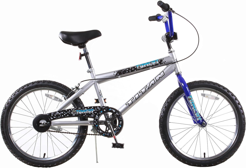 TITAN niños Gato con para Bicicleta BMX Rueda de 20: Amazon.es: Deportes y aire libre