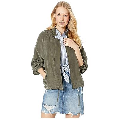 1.State Women's Drawstring Cupro Soft Bomber Jacket at Amazon Women's Coats Shop