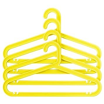 Hosenbügel Ikea ikea sprutt hosenbügel in gelb 4 stück amazon de küche haushalt