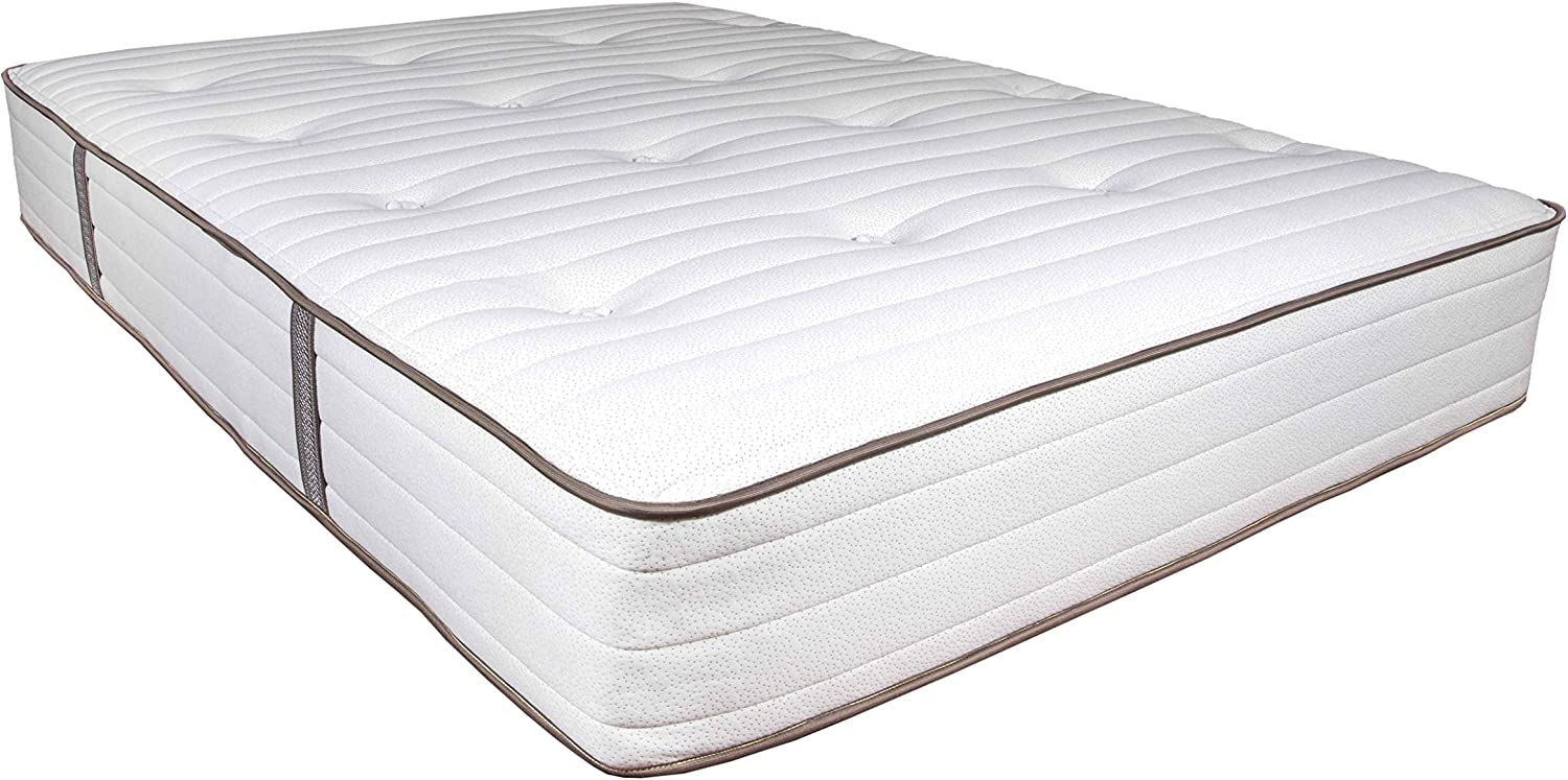 My Green Mattress - Natural Escape - GOTS Organic Cotton, Natural Eco-Wool and GOLS Certified Organic Latex - Medium Firm Mattress (Twin) Made in The USA