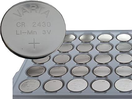 Varta Batterie Lithium Cr2430 6430 1er Bulk Küche Haushalt