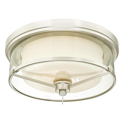 Westinghouse 63312 Lámpara de Techo de 33 cm para Interiores ...