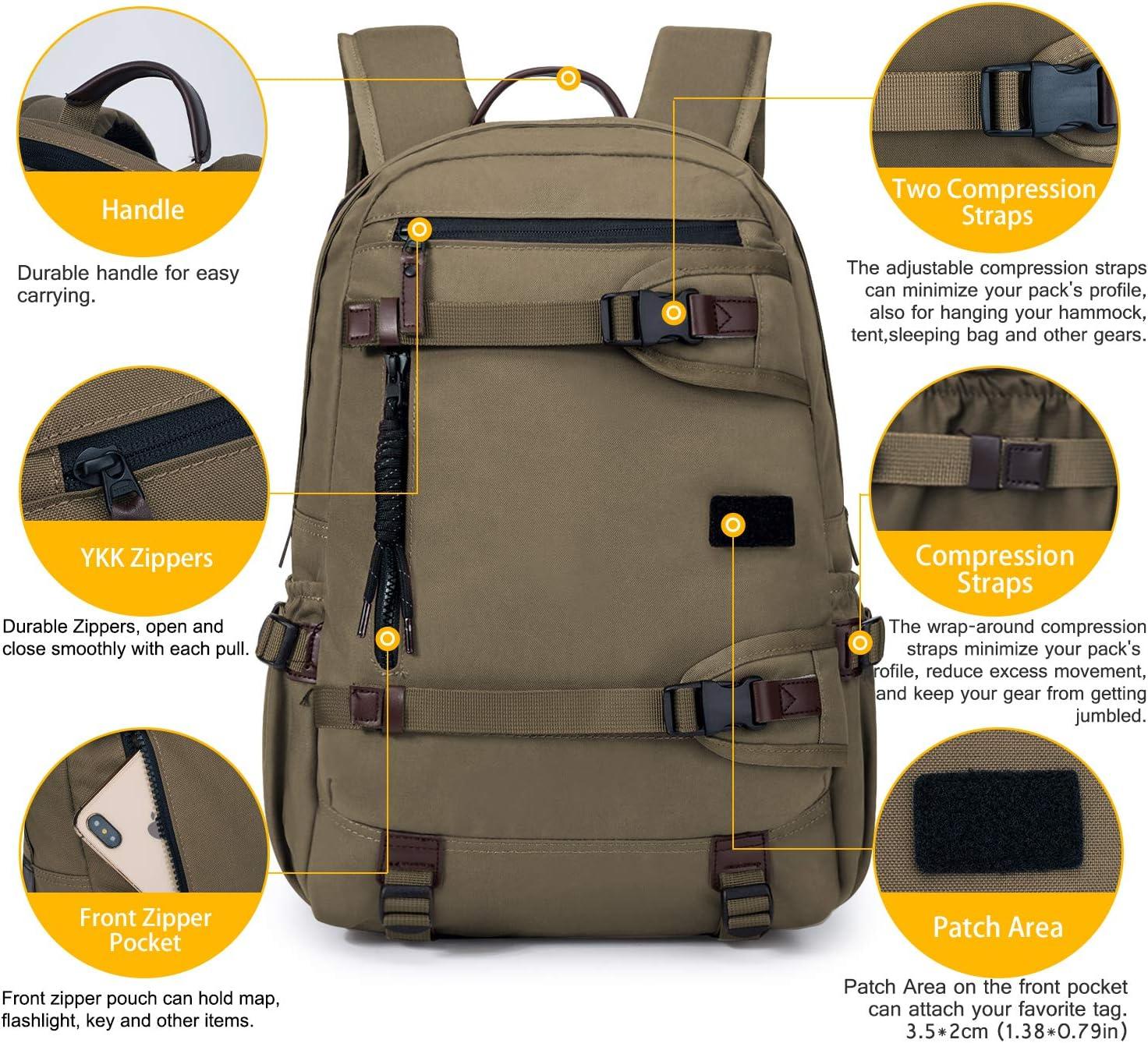 TAK Sac /à Dos Tactique Militaire Sac /à Dos Multifonction Sacs Molle Homme Imperm/éble pour Voyage Camping Trekking Randonn/ée