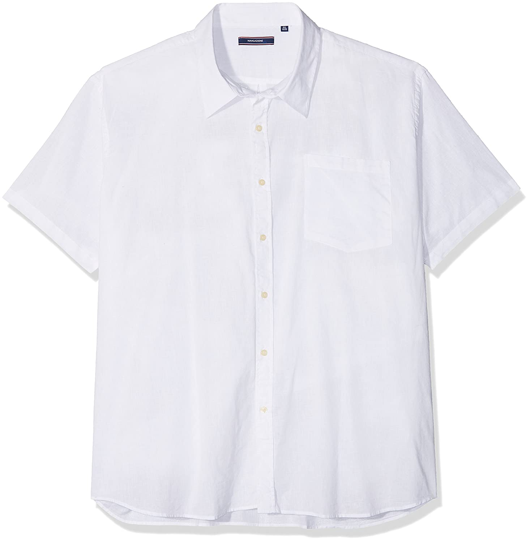 HS Navigazione Camisa de Oficina para Hombre