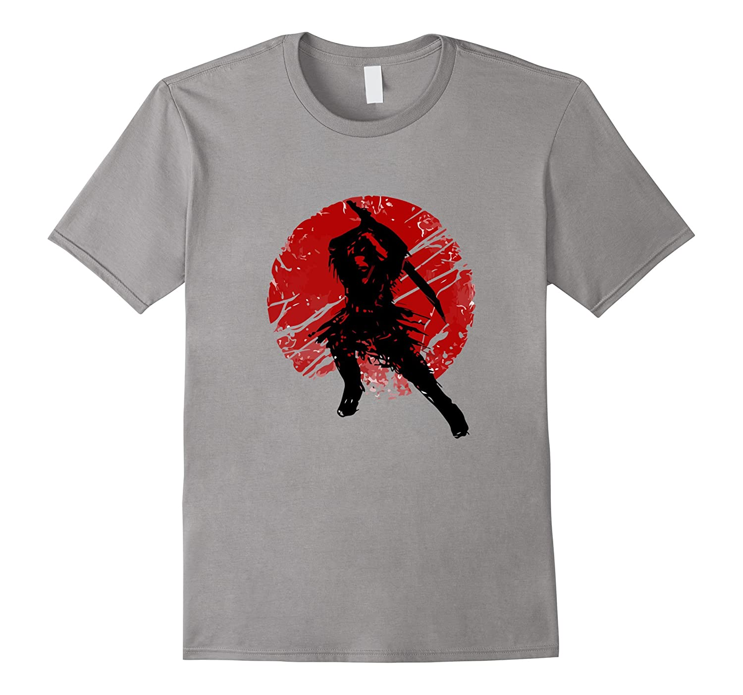 Ancient Samurai Warrior Sun - Premium Martial Arts Shirts-TD