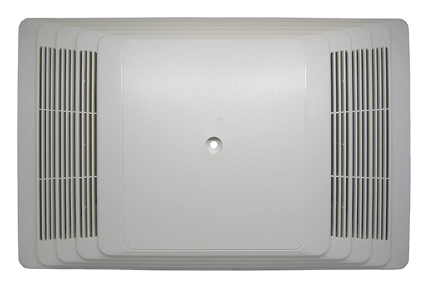 Broan S97013581 Bathroom Fan Cover Grille Assembly Kit, White