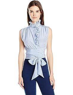 6a4e306521ced9 Amazon.com  MILLY Women s Knit Twilight Floral Sleeveless Peplum ...