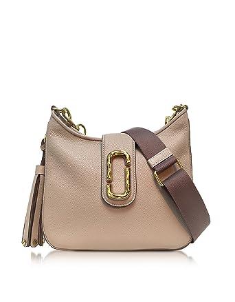 ce5c4615787 Marc Jacobs Women's M0011063224 Beige Leather Shoulder Bag: Amazon.co.uk:  Clothing