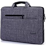 Vanwalk Laptop Tasche für Laptop HP / MacBook Air / MacBook Pro (grau) (15.6 Zoll)