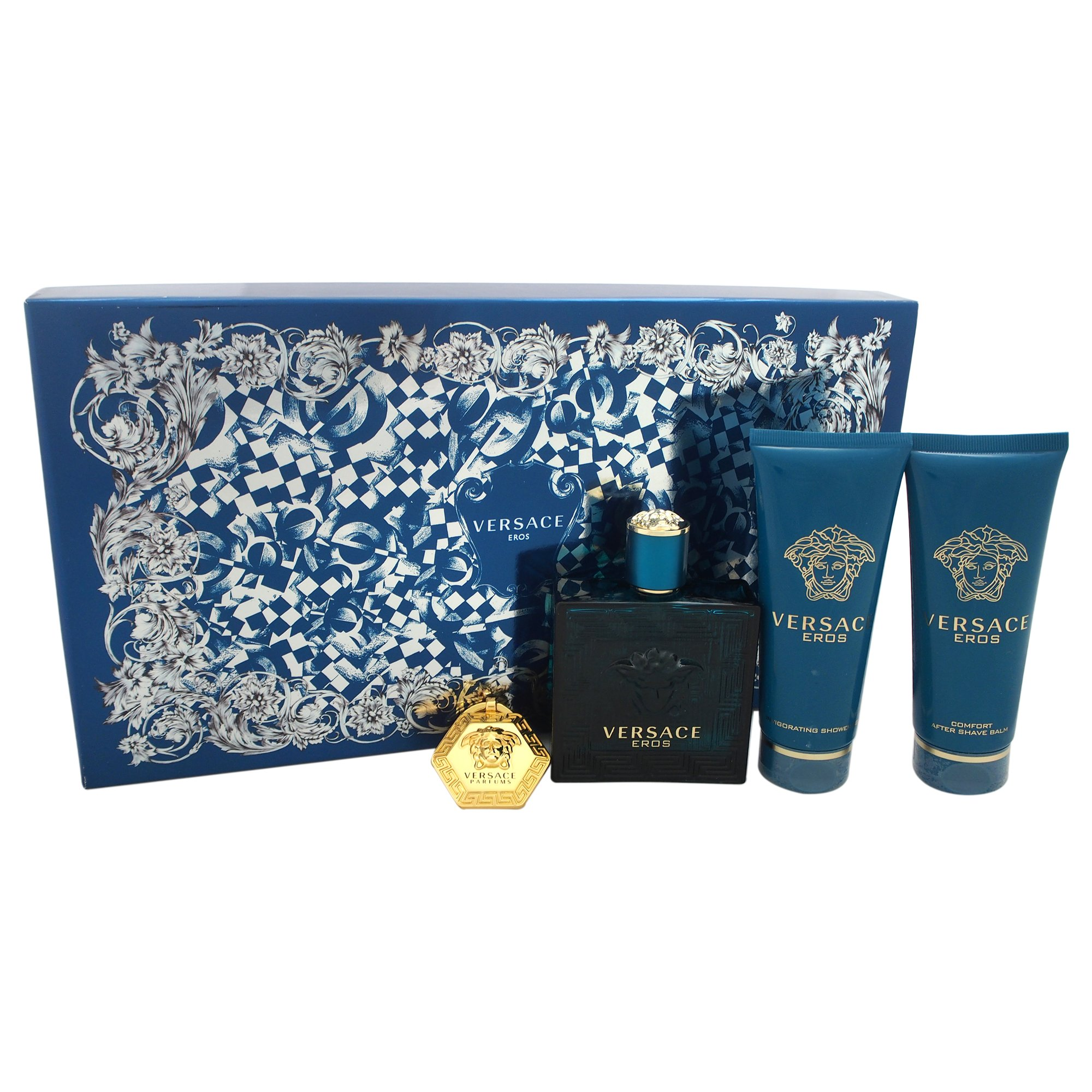 Versace Eros Gift Set for Men