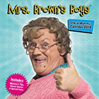 Mrs Brown's Boys Official 2019 Calendar - Square Wall Calendar Format