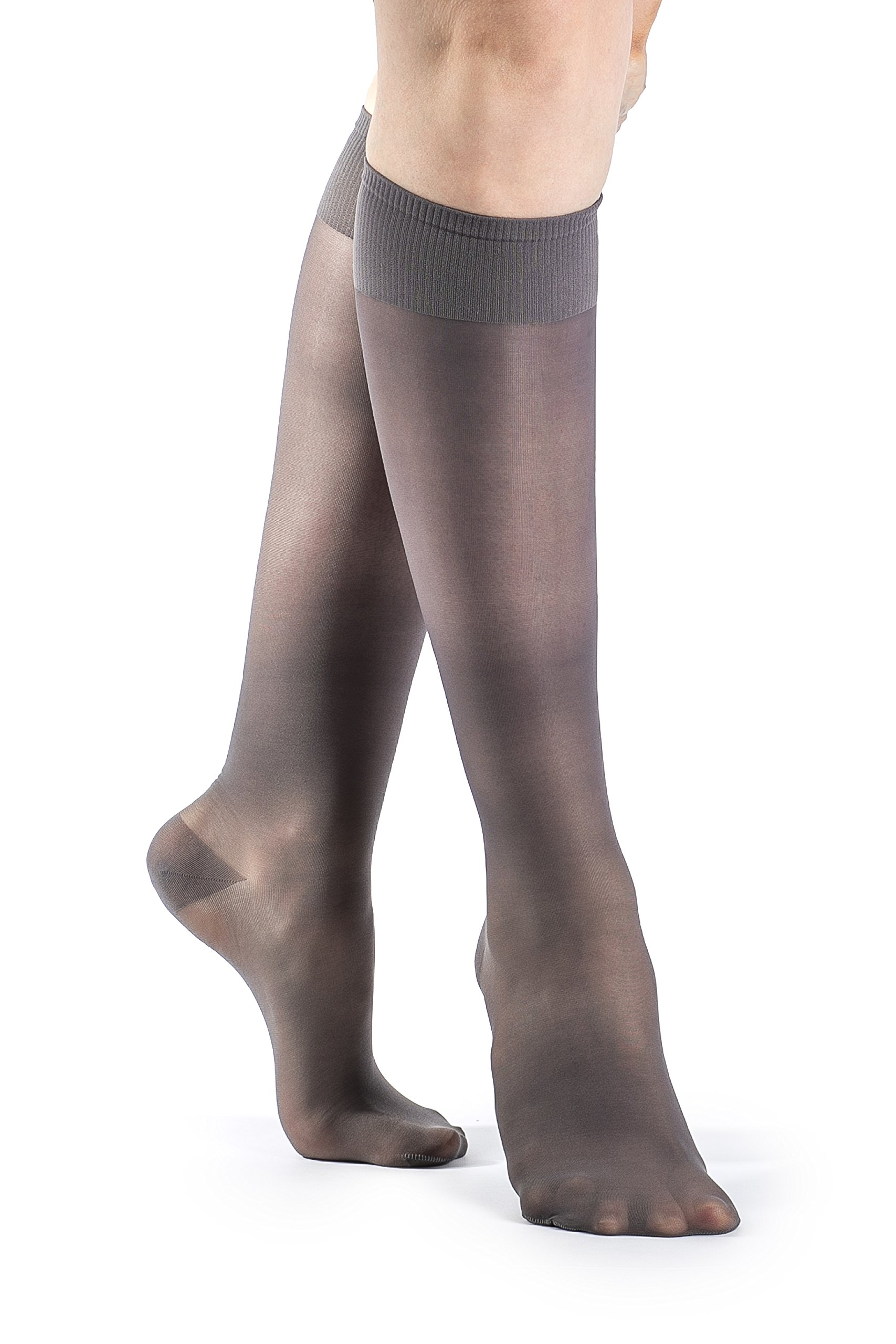 ab206f43f Amazon.com  SIGVARIS Women s SHEER FASHION 120 Closed Toe Calf Compression Hose  15-20mmHg  Health   Personal Care
