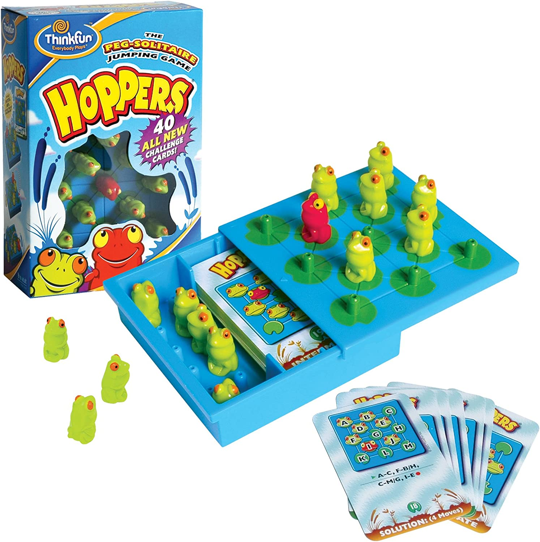 ThinkFun - Hoppers, juego de mesa en inglés(TF6701): Amazon.es ...
