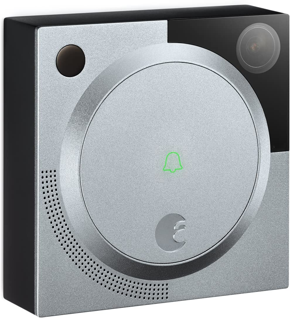 August Home AB-R1 Silver August Doorbell Camera, 1st generation, 1 x 2.9 x 2.9