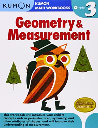 Grade 3 Geometry and Measurement (Kumon Math Workbooks)