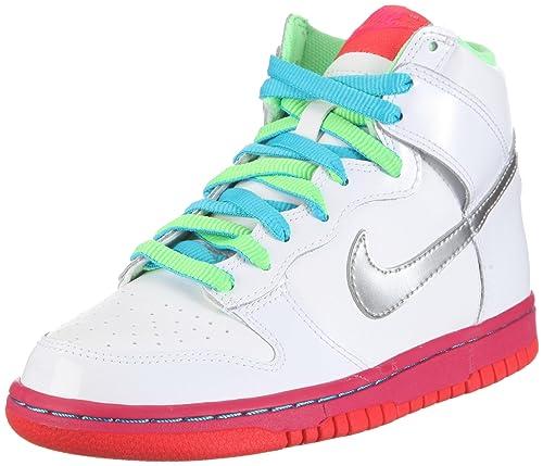 Nike Dunk High, Zapatillas de Baloncesto para Niñas, Blanco, 37.5 ...